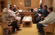 اجتماع عن مناقشة اوجهه التعاون بين كلية الفنون التطبيقية جامعة حلوان والمستشاريين الثقافيين لسلطنة عمان والبحرين واليمن