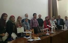 تكريم اللجنة المنظمة لحفل الخريجين 2015