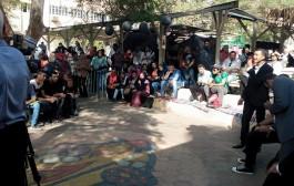 أمسية شعرية (شباب المستقبل ) للشاعر الدكتور مصطفي عبد المنعم بساحة الكلية