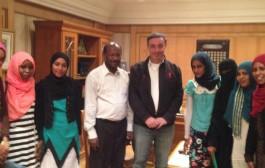 زيارة وفد جامعة السودان للعلوم والتكنولوجيا