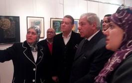 إفتتاح معرض معرض الاستاذ الدكتور الراحل ا.د. عزت جمال الدين ( روعة الكتاب و ابداع المكتوب )