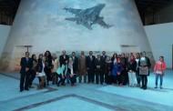 حضور ممثلي كلية الفنون التطبيقية الإفتتاح التجريبي لمتحف القوات الجوية