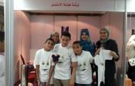 ورشة طباعة الإستنسل بملتقى أطفال بلا مأوى
