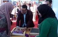 ورشة السجاد والكليم في المعرض الدولي للصناعات اليدويه بارض المعارض