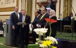 تكريم السادة أعضاء هيئة التدريس المتميزين