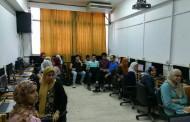 الدورة التدريبية product design ضمن المنحة المجانية التي يقدمها معهد تكنولوجيا المعلومات ITI لطلبة كلية الفنون التطبيقيه