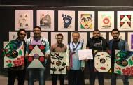 مشاركة طلاب كلية الفنون التطبيقية في ورشة تصميم الطيارات الورقية