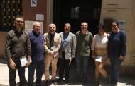 زيارة وفد أكاديمية باليرمو للفنون الجميلة بإيطاليا لكلية الفنون التطبيقية