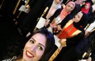 مشاركة المذيعة صفاء رمضان في حفل الخريجين 2017/ 2018