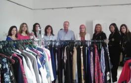 معرض الملابس المدعمة بالتعاون مع نادي روتاري نايل ريفير
