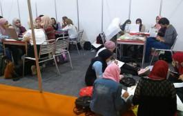 مشاركة طلاب الكلية في ورش العمل المصاحبة لمعرض ICS الدولي