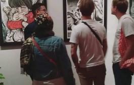 إفتتاح معرض حواري … لطلاب قسم التصميم الداخلي والأثاث