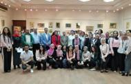 افتتاح معرض طلاب قسم الاعلان في الطبيعة الصامتة