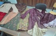 تبرع قسم الملابس الجاهزة بملابس من تصميم طلاب السنوات النهائية لجمعية الأورمان للبنات اليتيمات