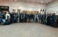 افتتاح المعرض الدولي للفنون التقليدية والتشكيلية لفنانين كوريين ومصريين بكلية الفنون التطبيقية