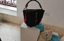 إفتتاح معرض المشغولات اليدوية للفنانة د. إيمان عبيد