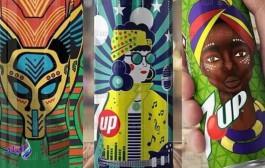 قبل كأس الأمم.. طلاب فنون تطبيقية حلوان يبتكرون عبوات مياه غازية بتصميمات أفريقية