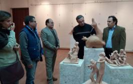 معرض (شقاوة ) للفنان الخزاف عمر يحيي