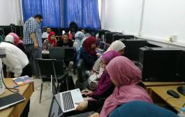 دء الكورس التدريب interior visualisation ضمن المنحة المجانية التي يقدمها معهد تكنولوجيا المعلومات ITI لطلبة كلية الفنون التطبيقيه