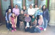 تجديد وإصلاح الزجاج المعشق بمدرسة الحرية للغات