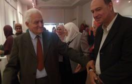 افتتاح معرض ( الخزف لون وجمال ) للاستاذ الدكتور سهير الشامي