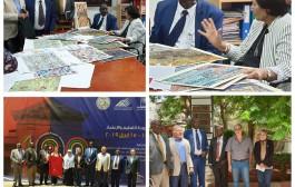 زيارة وفد أكاديمي من جامعات كينيا