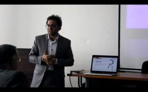 """قام الزميل رامي ممدوح بعقد سيمنار لرسالة دكتوراه عن """" التأثيرات البصرية من خلال أدلة سياحية افتراضية بتقنيات الواقع المعزز في الاماكن التاريخية والمتاحف في مصر"""